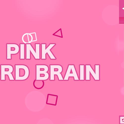 PINK WORD BRAIN